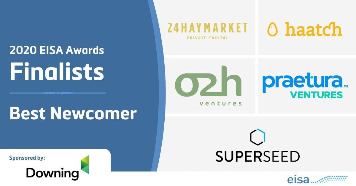 o2h ventures EISA 2020 awards finalist